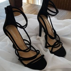 Simply gorgeous soft straps shoes.